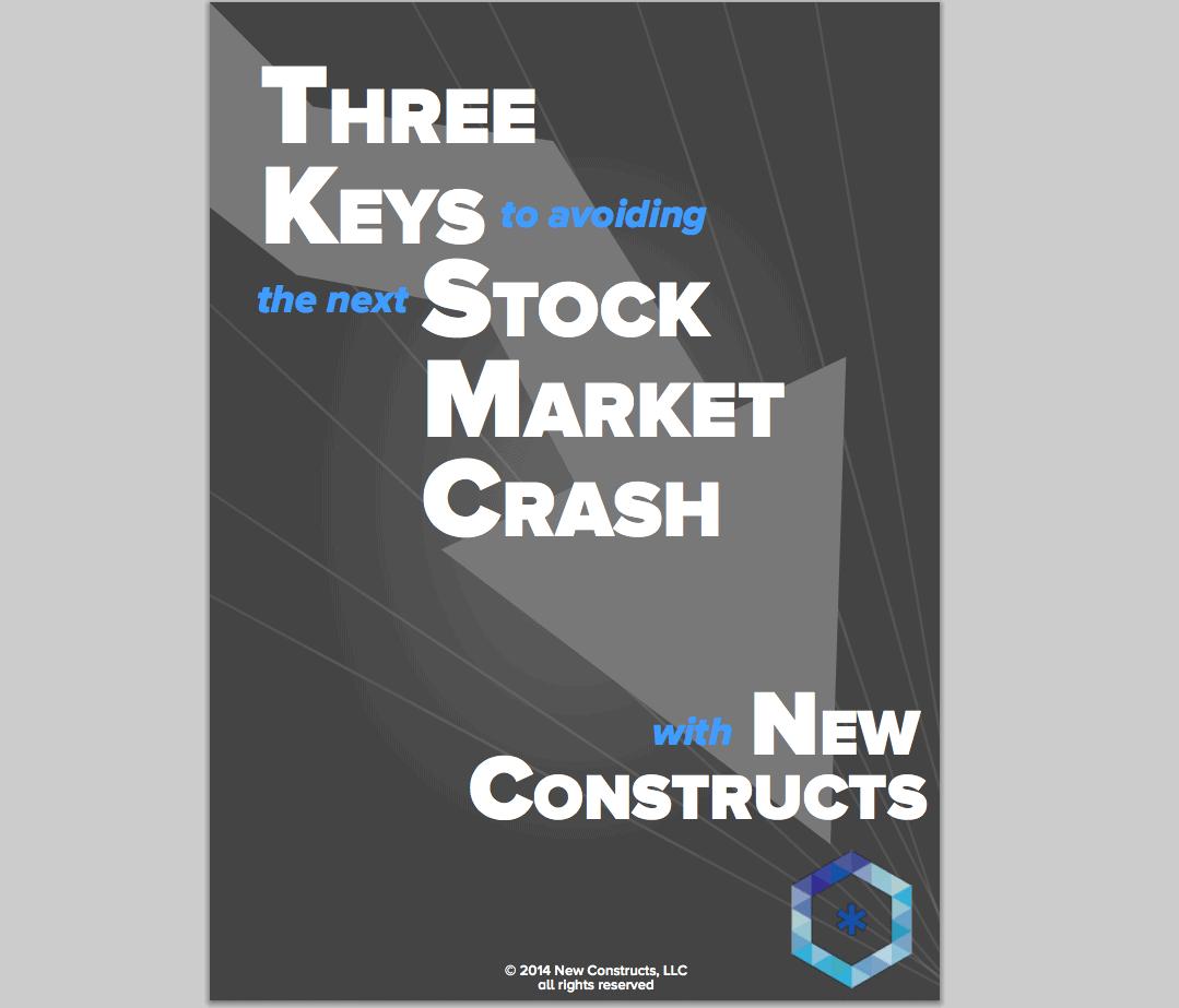 """Get Our Free Ebook: """"Three Keys To Avoiding the Next Stock Market Crash"""""""