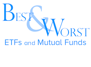 3Q Best & Worst ETFs & Mutual Funds – by Sector – Recap