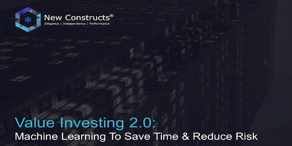 Value Investing 2.0 & The Technology Behind New Constructs
