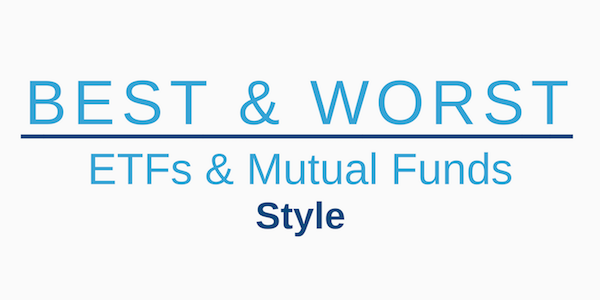 All Cap Value Style 3Q19: Best and Worst