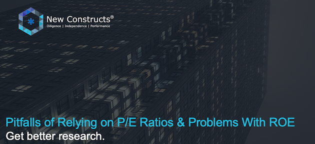 "Webinar: ""Pitfalls of Relying on P/E Ratios & Problems with ROE"" – Hosted by TD Ameritrade"
