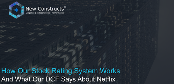 "Webinar: ""How our Stock Rating System Works & What Our DCF Says About Netflix"" – Hosted by TD Ameritrade"