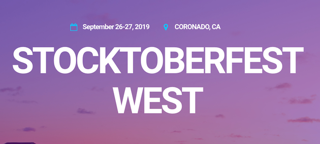 See our Presentation at StockTwits' Stocktoberfest West