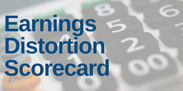 Earnings Distortion Scorecard: Week of 2/10/20-2/14/20