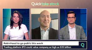 The Risks of Investing in Robinhood's IPO: Bloomberg TV