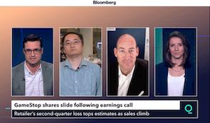 Bull Vs. Bear – The Original Meme Stock: Bloomberg TV